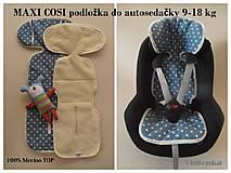 Textil - Podložka do autosedačky maxi cosi 9-18 kg 100% Merino proti poteniu a prechladnutiu - 7020461_