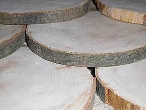 Pomôcky - vintage svadba/podložky z drevených plátov 2 - 7017850_