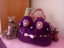 Iné tašky - Hačkovaná kabelka - 7018649_