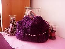 Iné tašky - Hačkovaná kabelka - 7018653_