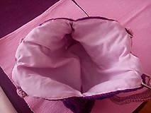 Iné tašky - Hačkovaná kabelka - 7018655_