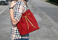 Kabelky - Kožená kabelka Nina
