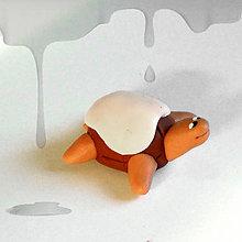 Hračky - Čokoládové želvičky na zákazku (s cukrovou polevou NA ZÁKAZKU) - 7018086_