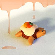 Hračky - Čokoládové želvičky na zákazku (s pomarančom a polevou NA ZÁKAZKU) - 7019471_
