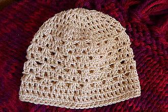 Detské čiapky - čiapočka BALI - 7022178_