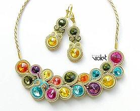 Sady šperkov - Rainbow set na želanie :) - 7021412_