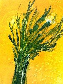 "Grafika - ""slnkom zaliaty strom"" - 7021137_"
