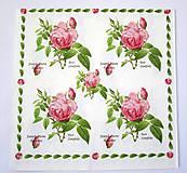 - Servítka K15-Rosa Centifolia - 7021310_