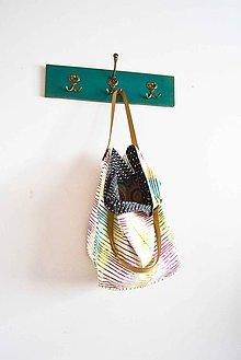 Veľké tašky - Casual... obojstranná... #10...  & kožené ramienka - 7022949_