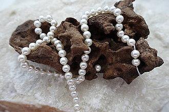Korálky - Perly z mušlí 6B1 - 7023610_
