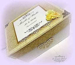 Krabičky - Krabica na pohľadnice