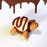 Hračky - Čokoládové želvičky na zákazku (s dvojitou polevou NA ZÁKAZKU) - 7022335_