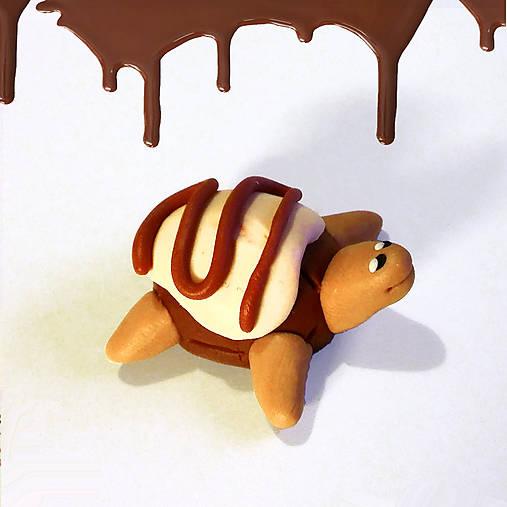 Čokoládové želvičky na zákazku (s dvojitou polevou NA ZÁKAZKU)