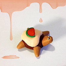 Hračky - Čokoládové želvičky na zákazku (s melónom NA ZÁKAZKU) - 7021414_