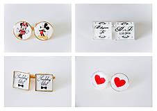 Šperky - Manžetové gombičky - 7024825_