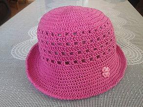 Detské čiapky - Staroružový klobúčik 1 - 7026846_