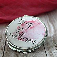Zrkadielka - Dnes si nádherná ružové - 7024480_