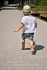 Detské oblečenie - Košieľka OLIVER biela - 7024060_