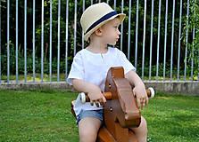 Detské oblečenie - Košieľka OLIVER biela - 7024061_