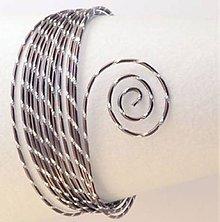 Komponenty - Drôt s diamantový efektom Hnedá čokoládová - 7026153_