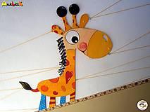 Detské doplnky - Dekorácia na zavesenie - Žirafa - 7025499_