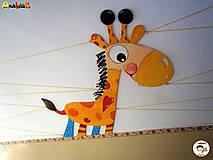 Detské doplnky - Dekorácia na zavesenie - Žirafa - 7025501_