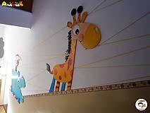Detské doplnky - Dekorácia na zavesenie - Žirafa - 7025503_