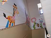 Detské doplnky - Dekorácia na zavesenie - Žirafa - 7025504_