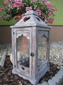 Dekorácie - lampáš - 7024235_