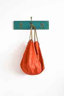 Veľké tašky - Casual... obojstranná... #13...  & kožené ramienka - 7026784_