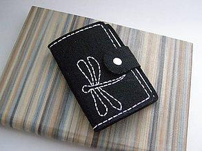 Peňaženky - Obal na doklady - vážka - 7024452_