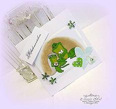 Papiernictvo - Princezná a žabiak - 7025132_