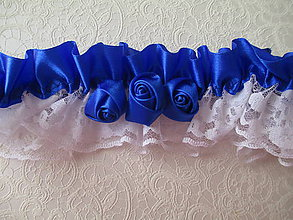 Bielizeň/Plavky - svadobný podväzok - 7026930_