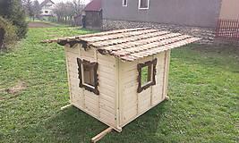 Veľký záhradný drevený domček