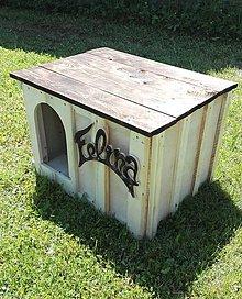 Pre zvieratká - Drevená psia búda - 7024953_