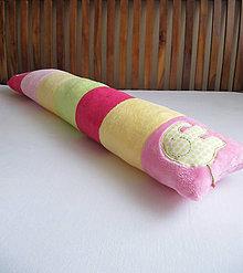 Textil - ružová slonia cesta... - 7024406_