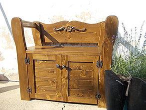 Nábytok - lavičko- botník vidiecky II - 7029405_