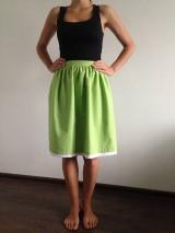 Sukne - Zlacnená!!! bodkovaná suknička - 7027568_