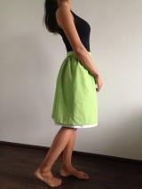 Sukne - Zlacnená!!! bodkovaná suknička - 7027570_