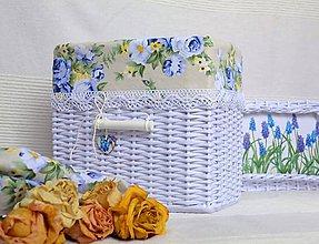 Košíky - Vodné ruže/ks - 7027427_