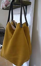 Veľké tašky - Okrová... :-) - 7029117_