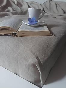 Úžitkový textil - Ľanová plachta na posteľ - 7029388_