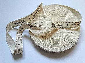 Galantéria - textilná etiketa - 7029790_