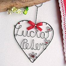 Darčeky pre svadobčanov - svadobné ♥ 14cm - 7032875_