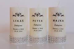 Svadobné menovky aj ako darček pre hostí