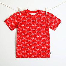 Detské oblečenie - Triko s krátkym rukávom bicykle (vel. 62 - 92) - 7032702_