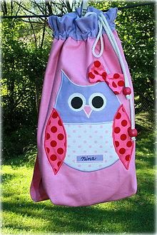 Detské tašky - Ruksak, batôžtek sovička - 7031735_