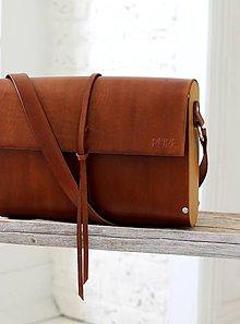 Veľké tašky - Kabelka na rameno PORTFOLIO EXTRA LARGE BROWN - 7029992_