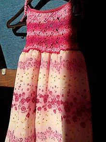 Detské oblečenie - dievčenské šatičky - 7031937_