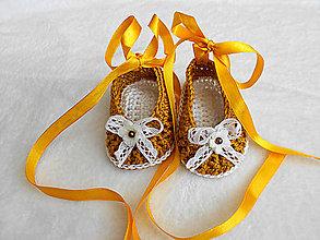 Topánočky - .....nôžky v zlate 1..... - 7030941_